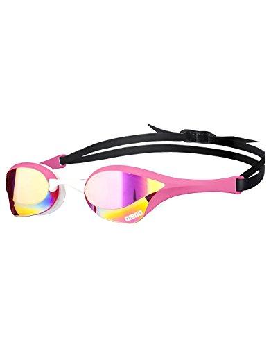 Arena Cobra Ultra Mirror Lunettes de natation Mixte Adultes Rose (pink revo/rose)