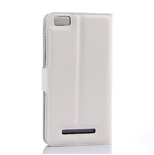 Funda Xiaomi Mi 4C,Manyip Caja del teléfono del cuero,Protector de Pantalla de Slim Case Estilo Billetera con Ranuras para Tarjetas, Soporte Plegable, Cierre Magnético I