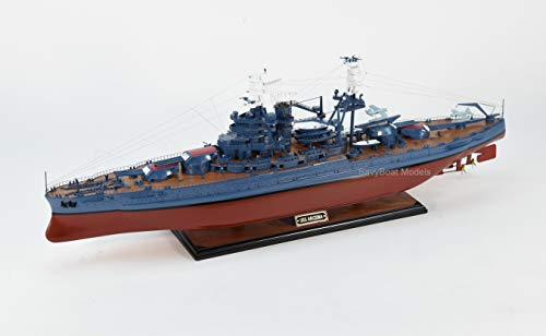 USS Arizona Pennsylvania-Class Battleship Wooden Ship Model 36