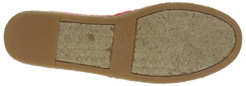 Groove Women's Fiona Espadrille Coral Cheetah CkXPoINY