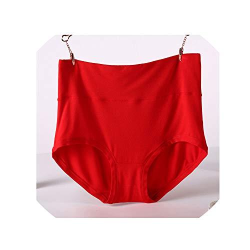 786b087d5969 Plus Size 6XL 7XL High Waist Women Underwear Bamboo Fiber Comfortable  Female Briefs Panties Solid Culotte