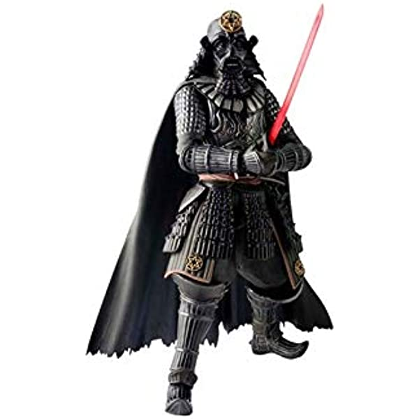 "6.3/"" Star Wars Samurai Darth Vader BAN DAI PVC Action Figure Statue Model Toys"