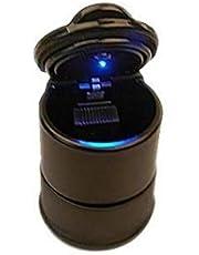 Portable Car Cigarette Ashtray Holder Cup Portable tubular smokeless Accessories Car Cigarette Ash Ashtray with cap/cover