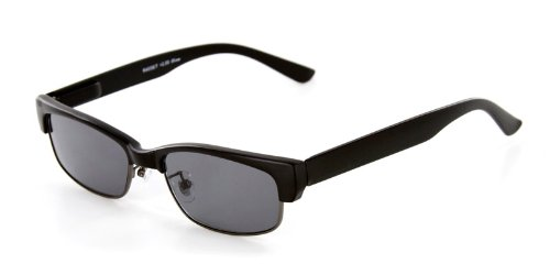 Base Camp Fashion Full Reading Sunglasses (NOT A BIFOCAL) with Spring Temples for Youthful, Stylish Men and Women (Black/Smoke - Sunglasses Reading Oakley With Lenses