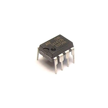 STMicroelectronics UA741 General-Purpose Operational Amplifier DIP8 10 Pieces