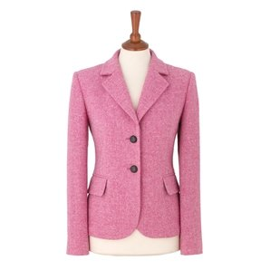 Pink Fitted Jacket - JacketIn