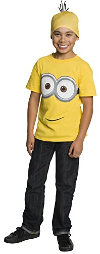 [Rubie's Costume Minion Child Shirt and Head Piece, One Color, Medium] (Costume Minions)