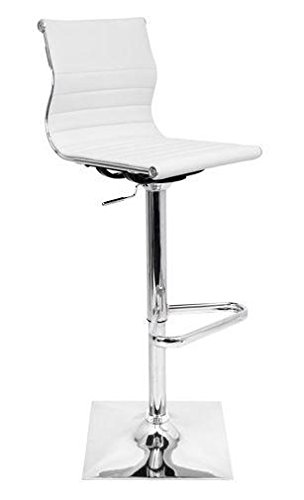 LumiSource Master Adjustable Height Swivel Bar Stool
