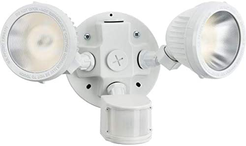 Hubbell Industrial ML-2L3K-1-WH LED Twin Head Motion Sensor Kit, White
