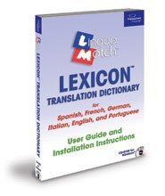 Lexicon Spanish Dictionary - Lingua Match Mulitingual Lexicon Translation Dictionary for English, French, German, Italian, Spanish and Portuguese