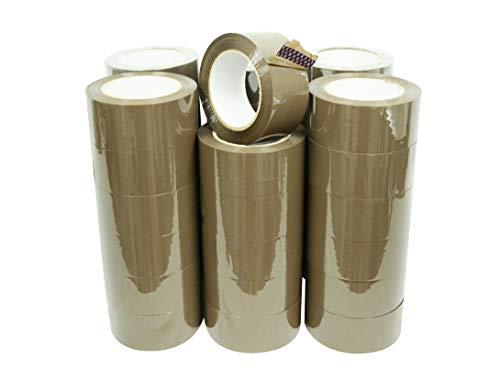 WOD OPP-20AW Tan Packing Tape - 2
