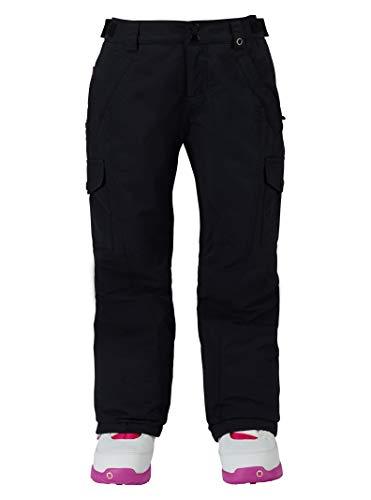 Burton Girls' Elite Cargo Snow Pant, True Black