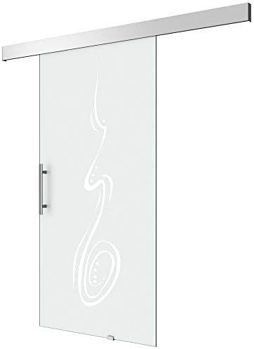 Puerta Corredera de Cristal Amalfi Titan TS18 – 1025, mango tipo ...