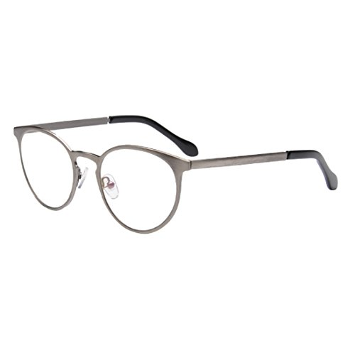 D.King Vintage Fashion Style Oval Round Glasses Frame Unisex Eyeglasses - Small Face Oval Best Frames For Eyeglass