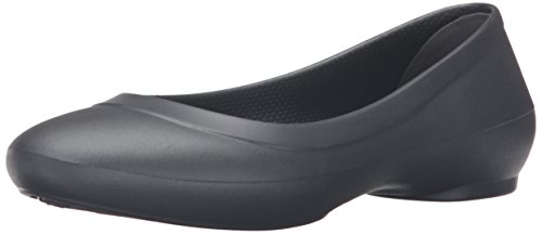 Crocs Ballerinas Flat graphite Grey Lina Woman TTFYnHw
