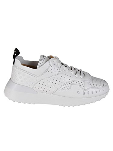in Bianco Bianca XXW80A0W590JUSB001 Pelle Tod's Sneaker Traforata Donna Fwqx5vBS