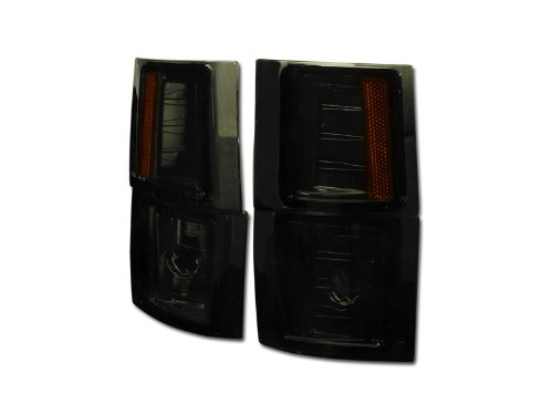 SMOKE AMBER LENS SIGNAL PARKING CORNER LIGHT LAMP 94-00 CHEVY C10 C/K PICKUP/SUV