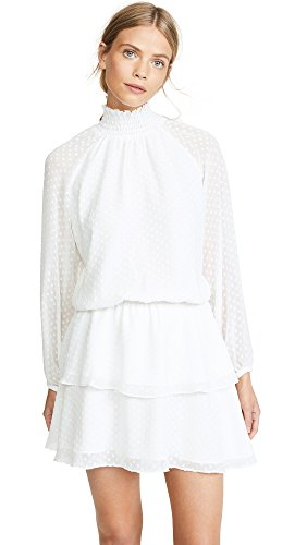 Yumi Kim Women's Class Act Dress, Swiss Dot White, X-Large ()