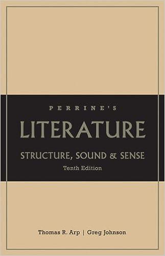 Perrine S Literature Structure Sound And