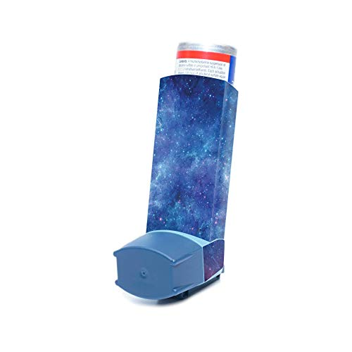 MightySkins Skin for Ventolin HFA Asthma Inhaler – Nebula | Protective, Durable, and Unique Vinyl Decal wrap Cover…