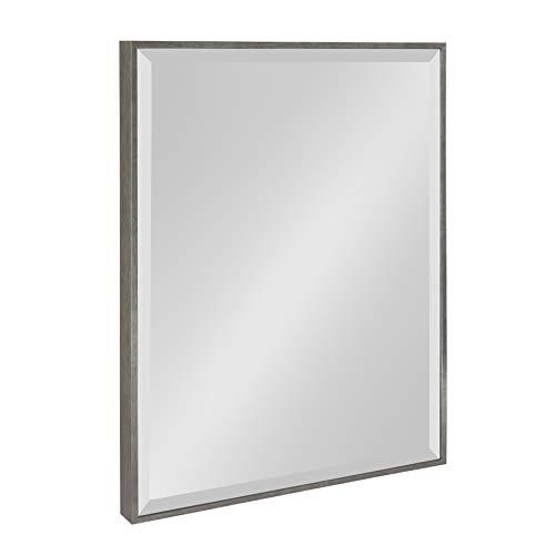 Kate and Laurel Rhodes Framed Wall Mirror, 18.75x24.75, Dark -