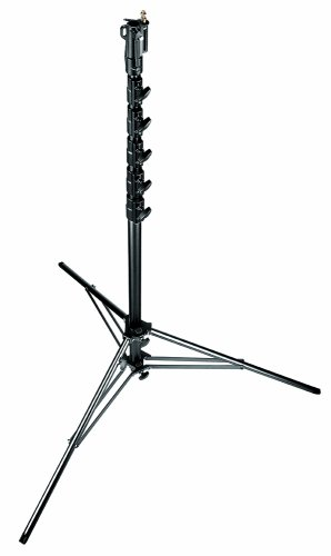Manfrotto 269HDBU 24-Feet Super High Aluminium Stand with Leveling Leg - Special Order (Black) (Stand Manfrotto Camera)