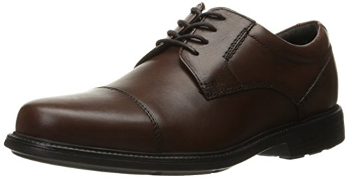 Rockport Men's City Stride Cap Toe Oxford, Tan, 11 W US