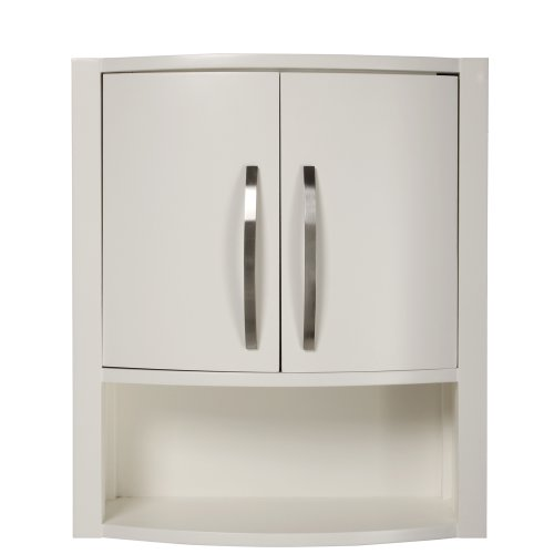 DECOLAV 5255-WHT Lola 22-Inch Wall Cabinet, White