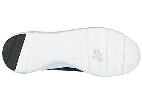 Emporio Armani EA7 scarpe sneakers uomo nuove originale nero Venta Barata Explorar Sitios Web De Venta Online Coste Para La Venta AMdvX