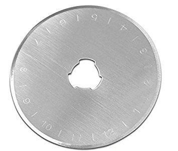 Rotary Cutter Blades,(20 Pack) Best Buy Budget x 45 mm Replacement Blades, Ideal for Paper,Card,Fabric,Leather,Vinyl,Quilting,Scrapbooking,Crafting, Art,Office,Fits Olfa,Fiskars rotary cutters.