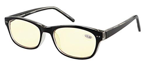 fddcc7e2272 Eyecedar Computer Reading Glasses Women Memory Material Frame Spring Hinges