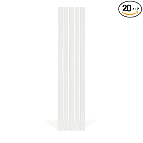 Fiberon (4 Packs of 5) 1-in x 36-in Homeselect White
