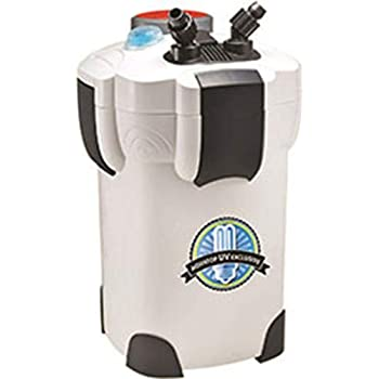 Image of Aquatop CF Series Canister Filter (370 and 525 GPH with UV) Pet Supplies