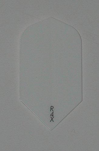 US Darts 3 sets (9 flights) Ruthless Slim R4X WHITE Dart Flights