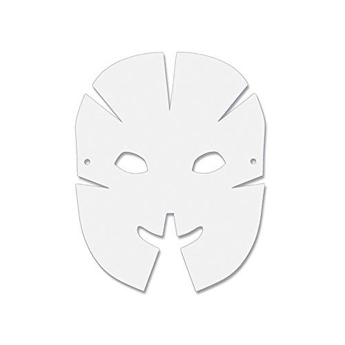 Creativity Street Die-Cut Dimensional Paper Masks, 10-1/2
