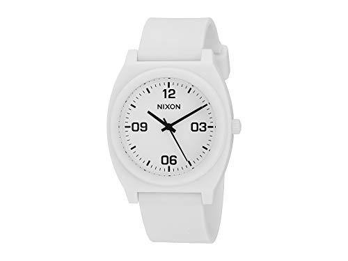 Nixon Men's Time Teller P Corp Matte White/Black One Size