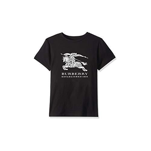 AC-Burberrys-Style Replica T-Shirt - Unisex Toddler Kids Boys/Girls Luxury Brand Inspired Design T-Shirt Black
