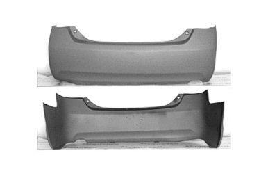 2009 camry rear bumper cover - 2