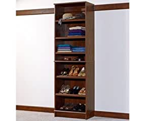 Sauder woodtrac closets 24 shelf cabinet 5 for Woodtrac closets