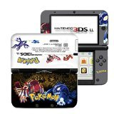 Pokemon Omega Ruby and Alpha Sapphire Black White Limited Edition VINYL SKIN STICKER DECAL COVER for Nintendo 3DS XL / LL Console System