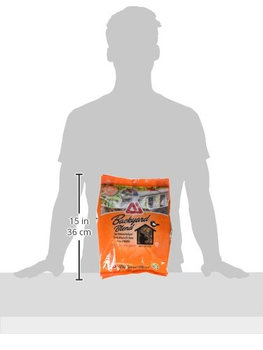 TMF 100% Premium Quality Backyard Blend For Squirrels and Backyard Animals, 4 lb.