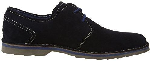 camel active Delta 50, Zapatos de Cordones Derby para Hombre Azul (10 midnight)
