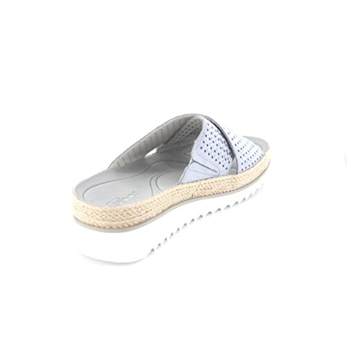Gabor 63721-16 - Zuecos para mujer aguamarina