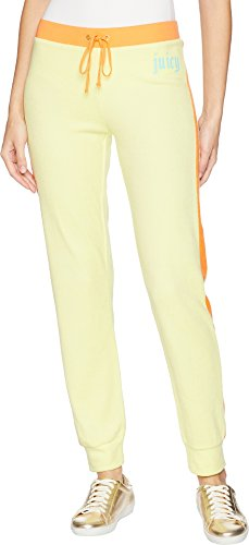 - Juicy Couture Women's Zuma Pants w/Gothic Juicy Logo Sunny Lime Small 28