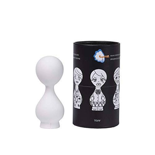 TOYSVILL Figurines to Paint for Adults and Kids - Eco-Friendly & Non-Toxic Art Crafts Kit from Natural Ingredients, DIY Painting Toy for Coloring & Drawing (YUNY)