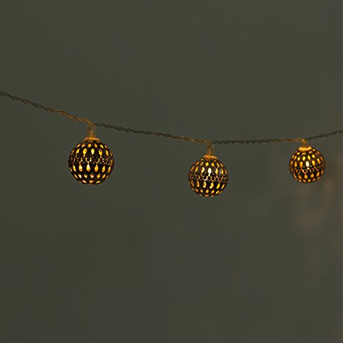 Moroccan Decorative Solar String Lights