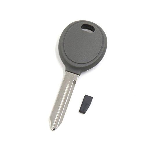 uxcell New Replacement Car Uncut Transponder Ignition Key w 46 Chipped for Dodge RAM