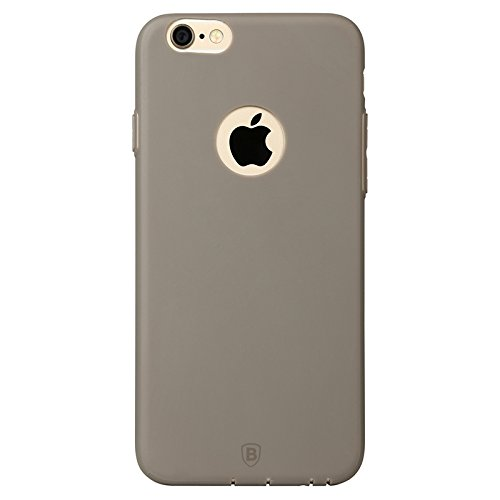 Baseus étui de protection premium mISU coque de protection ultra-fine/fine coque de protection pour apple iPhone 6 & 6S à café (marron)