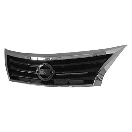 - Value For Nissan Altima 13-15 Grille Grill Assembly Sedan OE Quality Replacement
