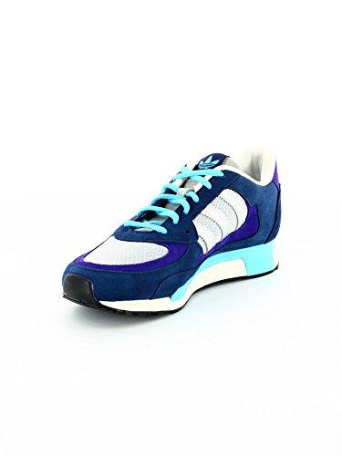Adidas - Zx 850 - Coleur: Azul marino-Celeste-Gris - Taille: 46.0
